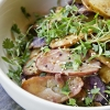Heirloom Potato Salad & Micro Greens